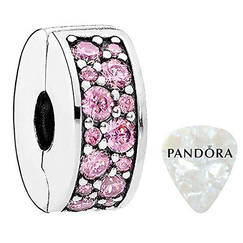 Pandora 791817PCZ Pink Shining Elegance Spacer Clip