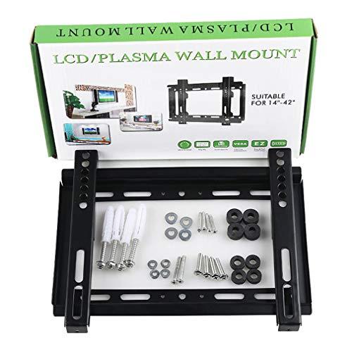 TANGIST Rack de TV LCD Universal de 32-70 Pulgadas de 26-55 Pulgadas 1.2 Grueso GD02 14-42 Pulgadas GD01 TV LCD de Pared de TV de Pared de Pared (Color : GD01)