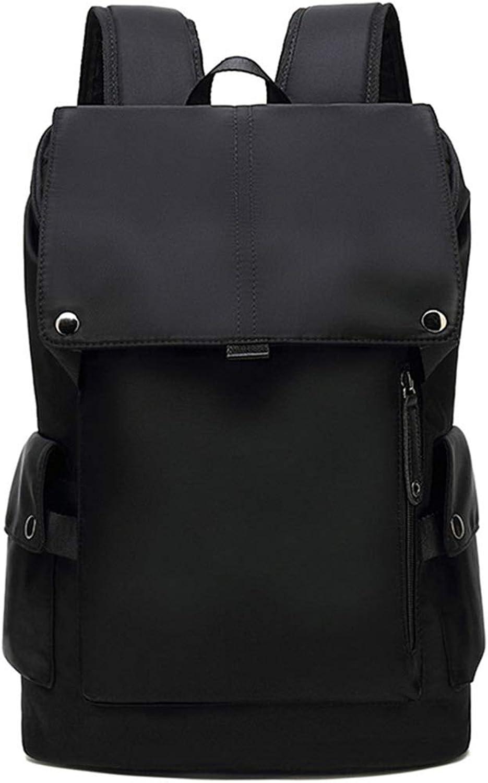 WHY Rucksack Mnnliche Mode Trend Persnlichkeit Computer Rucksack Mnnlichen Highschool Student College Tasche Schwarz Freizeit Reisetasche