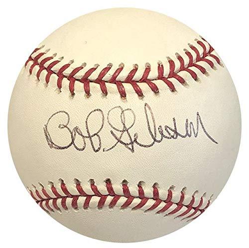 Autographed Luis Gonzalez Ball - Bob GIbson - Autographed Baseballs Bob Gibson Autographed Baseball