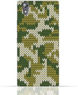 Lenovo P70 TPU Silicone Case With Knitted Camouflage Pattern Design