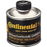 Continental Schlauchreifenkitt für Carbonfelgen, Dose à 200 g, mit Pinsel Bote Pegamento, Unisex, Negro, Talla Única