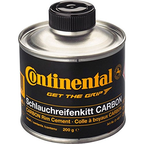 Continental Mastice in Barattolo, Tubular Rim Cement for Carbon Rims, 250G Unisex Adulto, Nero, Taglia única