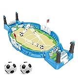 JDYDDSK Mesa de Foosball, Mini Mesa de fútbol para Adultos y niños, Juego de fútbol portátil, Mesa de Foosball, Entretenimiento para Fiestas |,2 balles