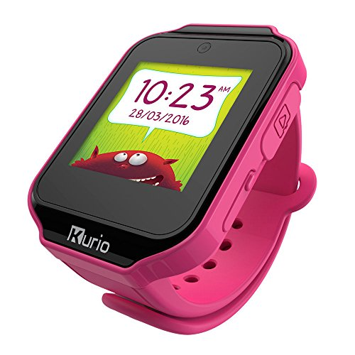 "Kurio Watch 1.54"" LCD Negro, Rosa Reloj Inteligente - Relojes Inteligentes (3,91 cm (1.54""), LCD, Pantalla táctil, Negro, Rosa)"