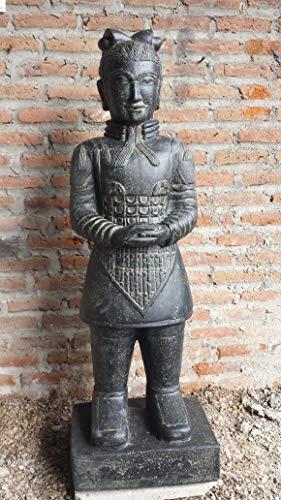 Möbel Peters Chinesischer Krieger Terracotta Armee Outdoor Frostfest 150cm