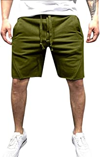 HEFASDM Womens Casual Summer Multi-Pocket Workout Loose Cargo Shorts Pant