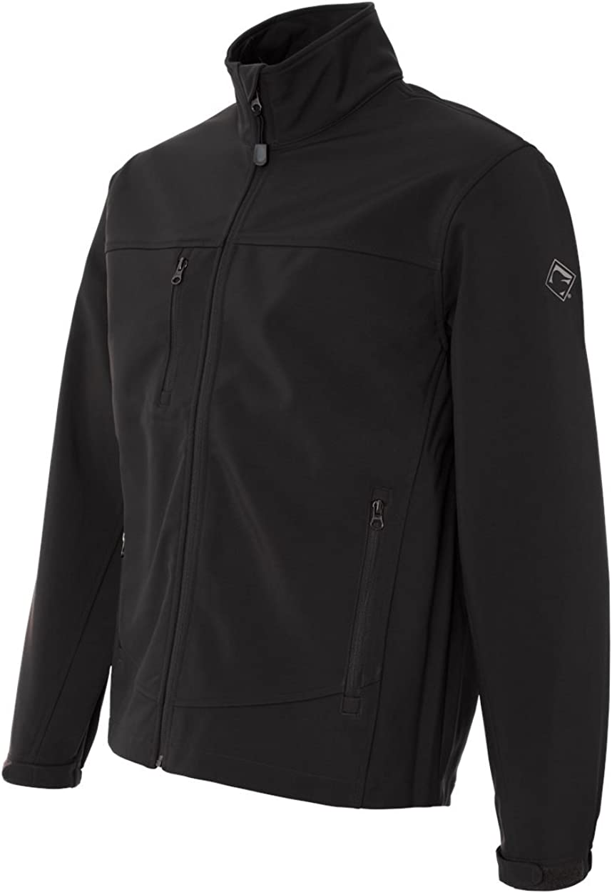 DRI Duck Men's 5350 / 5350T Motion Wind/Water Resistant Zip-Up Soft Shell Jacket