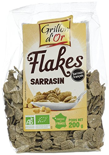 Grillon d'or Flakes de Sarrasin Bio 200 g