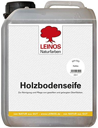 Leinos 924 zeep voor houten vloeren 2,5 Liter kleurloos