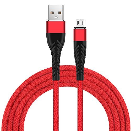 Cable Micro USB, Cable USB 2.0 Micro Android Compatible con Nexus, LG, HTC, Nokia, Sony y más