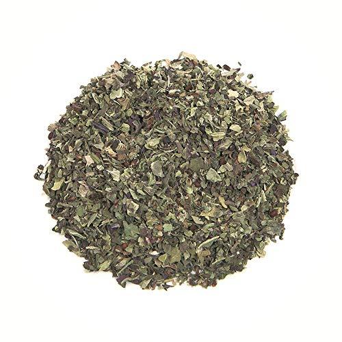 Herbis Natura Basilikum Blätter gerebelt, aus biologischem Anbau, Ocimum basilicum (500 Gramm)