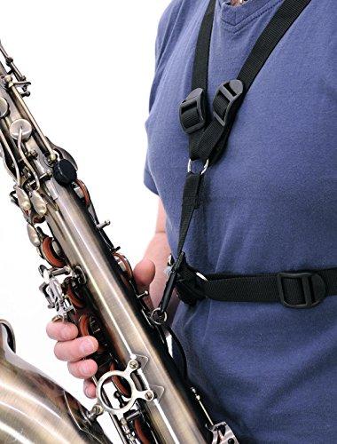 DIMAVERY Umhängegurt für Bariton-Saxophon