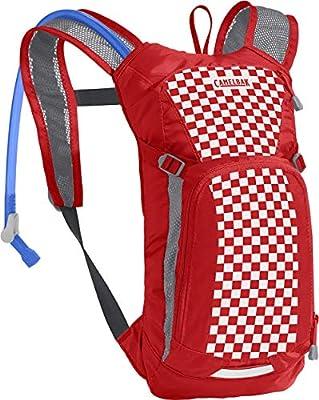 Mini M.U.L.E. Kids' Hydration Backpack - 50 oz Racing Red Check