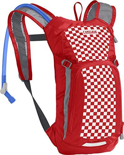CamelBak Mini Mule Rojo 1.5, Paquete Unisex-Adultos, Racing Red Check, Talla única
