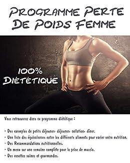 programme perte de poids femme