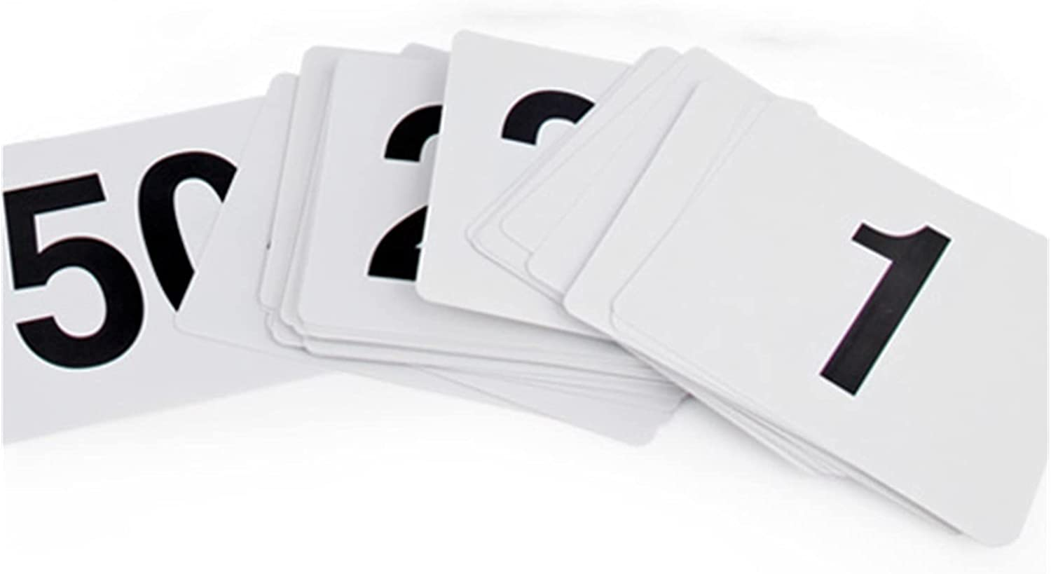 Table number 1 to 100 Ultra-Cheap Deals Double Number Sale price Cards Side Plastic Whi