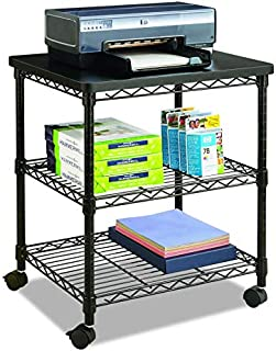 Safco Products Deskside Wire Machine Stand 5207BL
