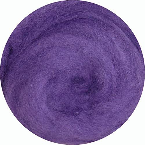 SIA 100% lana para fieltrar o hilar lana para fieltrar seco y húmedo, 75 g