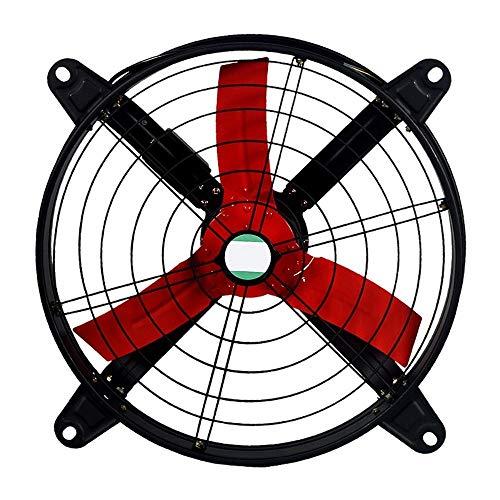YINUO Fans Ventilador eléctrico Creativo Alta Potencia Circular Industrial Extractor/Cocina Gran Volumen de Aire Humo Extractor/Extractor de fábrica/Ventilador Adecuado para Taller, Garaje