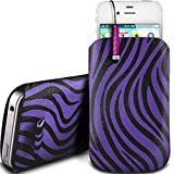 N4U Online® - Nokia Lumia 920 Protective PU Leather Zebra
