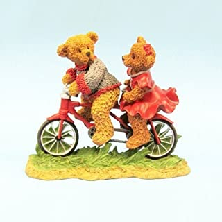 Washington State Cougars Claude and Gladys Bicycle Built for Two Figurine by Ridgewood Collectibles