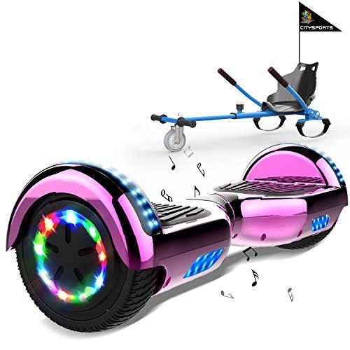 MARKBOARD Hoverboards Go Kart, Scooter eléctrico autoequilibrado de 6.5