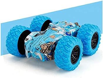 Binmer Inertia-Double Side Friction Powered Shockproof Cars