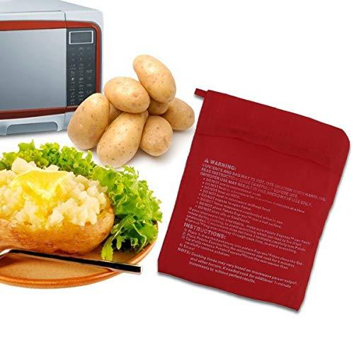 ACELEY Bolsa para cocinar Patatas para microondas, Bolsa par