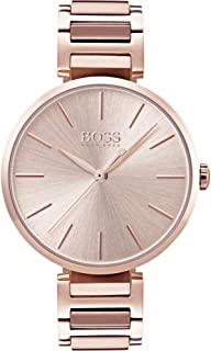 Hugo Boss Women's Silver Dial Metal Band Watch - 1502418