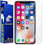 ArmorSuit MilitaryShield Screen Protector for Apple iPhone X - [Max Coverage] Anti-Bubble HD Clear Film