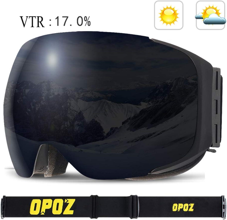 YSH Skibrille Snowboard Goggles UV Schutz Snow Goggles Goggles Goggles Wind Resistant Für Erwachsene Snowboard Skating Für Männer Und Frauen,B B07L4CBTLX  Kunde zuerst 06558b