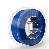 SainSmart PRO-3 Filamento para impresora 3D PETG sin enredos, 1,75 mm, PETG azul, carrete de 2,2 lb (1 kg), precisión dimensional +/- 0,02 mm, modelo: 101-90-740BLU