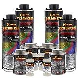 Custom Coat Bright White 1 Gallon Urethane Spray-On Truck Bed Liner Kit -Easy Mixing, Just Shake,...