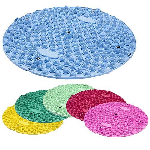 JINTD Hausübungsgeräte, Fußmassage-Pad-Toe-Druckplatten-Matte Blutkreislauf-Shiatsu-Matte 50cm zur Übung