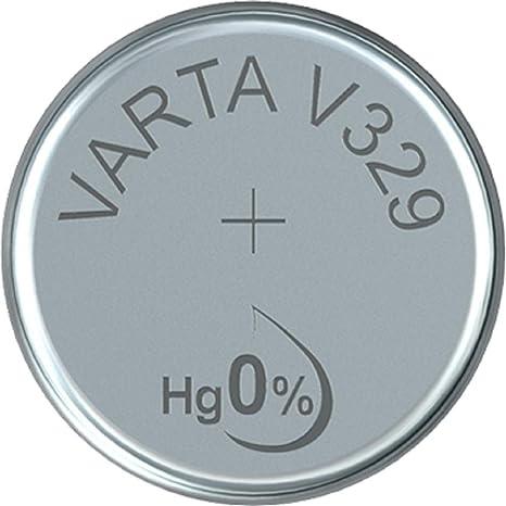 Varta Batterien Electronics V329 Lithium Knopfzellen Elektronik