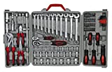 Maleta de ferramentas com 110 peças, Eda, 9SR, Cinza