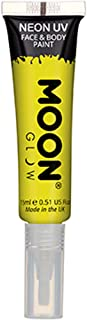 Intense Yellow Face And Body Paint With Brush Applicator One Size