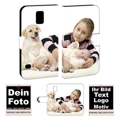 Personalisierte Premium Foto-Handyhülle für Samsung Galaxy-Serie selbst gestalten mit Foto bedrucken (Samsung Galaxy S5 Mini, Mit eigenes Foto Text Druck)