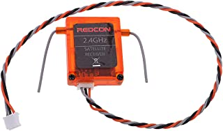 dailymall 2pcs REDCON DSM2 DSMX Satellite Receiver for CM703 ,S603 ,speaktrum JR MD