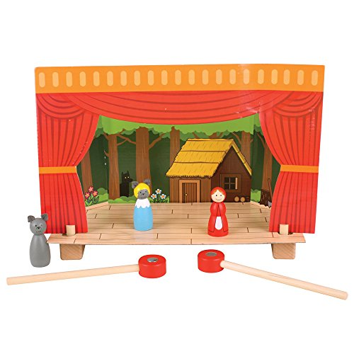 Bigjigs Toys Magnetisches Theater