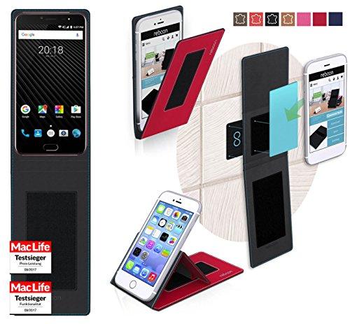 Hülle für Ulefone T1 Tasche Cover Hülle Bumper | Rot | Testsieger