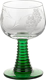 German Rhein Wine Small Glass Roemer
