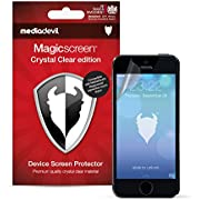 MediaDevil Screen Protector for iPhone SE (2016) and iPhone 5S / 5C / 5 - Crystal Clear Edition Film (2-Pack)
