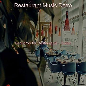 Backdrop for Restaurants - Guitar