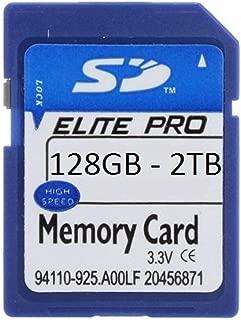 Elite Pro 128GB 256GB 512GB 1TB 2TB SDXC SD SDHC Class 10 Camera Memory Card for Camcorders Video Cameras Dash Cameras (2TB)