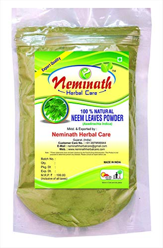 Neem Leaves (AZADIRACHTA INDICA) Powder 227 gm (8 OZ)