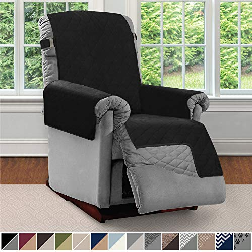 Sofa Shield Original Patent Pending Reversible Small Recliner Protector, Seat...