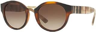 Burberry BE4227 Sunglasses Light Havana w/Brown Gradient Lens 360113 BE 4227