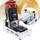 Panini Press Machine Maker, 1000W Commerical Grill Panini Sandwich Maker, 110V Electric Ice Cream Brioche Sandwich Panini Press Machine Maker, Double Sides Heating
